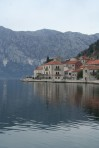 Venetian buildings in Perast.
