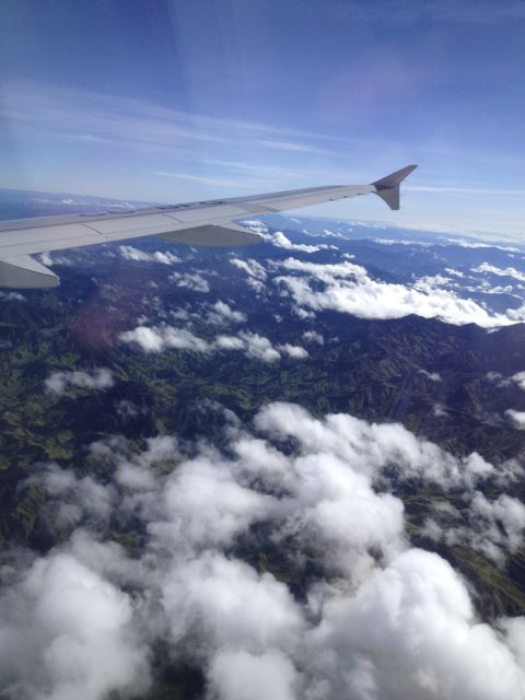 The cordillera(Somewhere over Paisalandia)