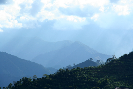 Mountains upon mountains  (Jardín, Colombia)